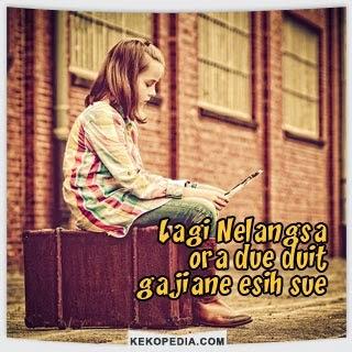 Dp BBM Bahasa Jawa Tema Nelangsa