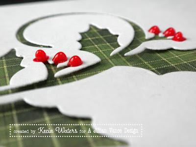 AJVD, Kecia Waters, Viva Pearl Pen, holly Christmas