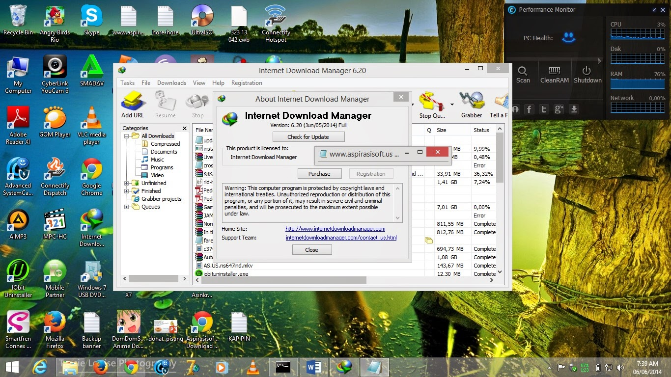 Internet Download Manager 6.20 Full Repack - MirrorCreator