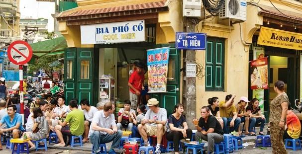 bia hoi hanoi old quarter