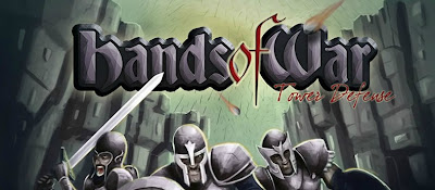 Hands of War Tower Defense walkthrough.
