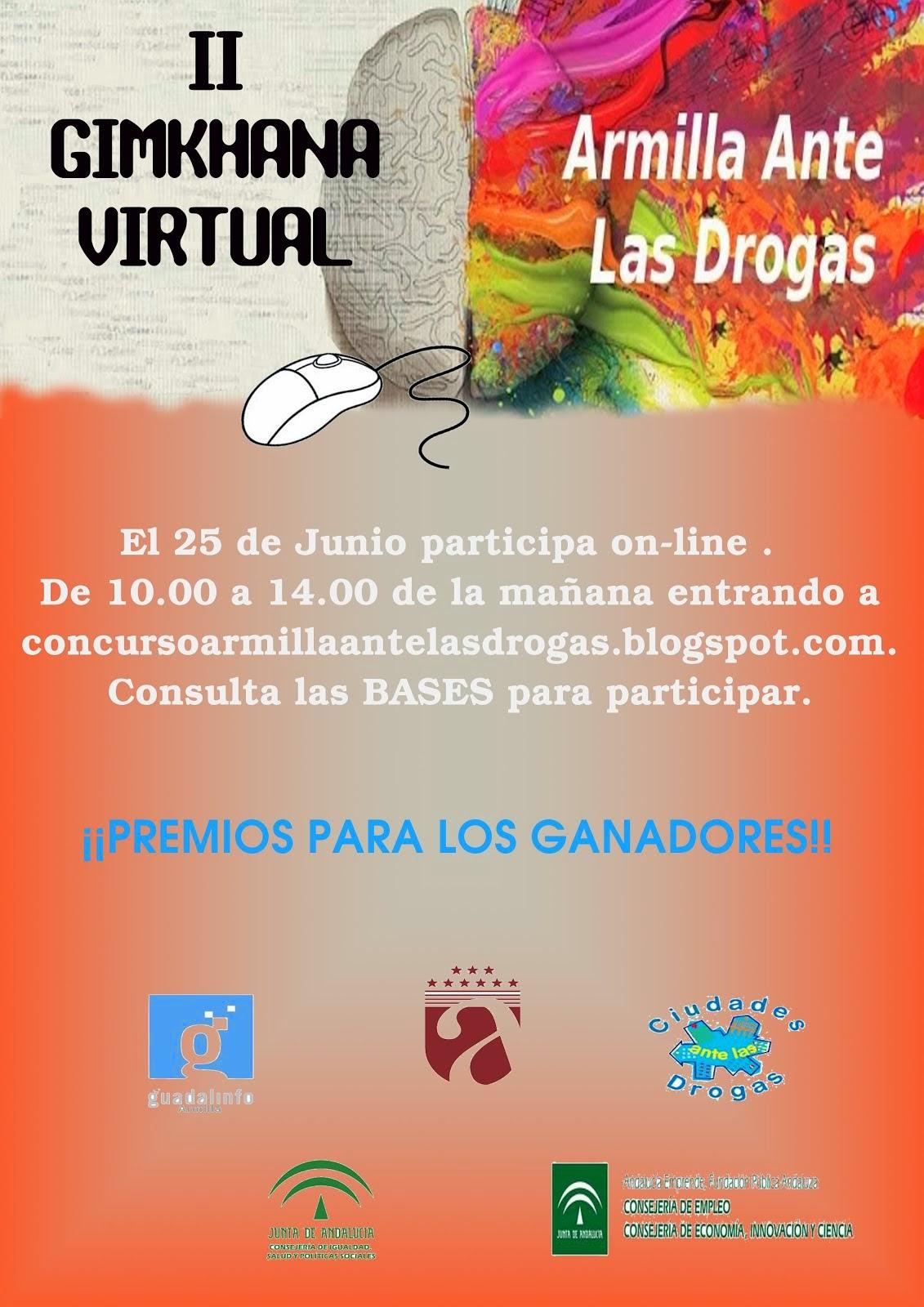 II Gymkhana virtual Armilla ante las Drogas