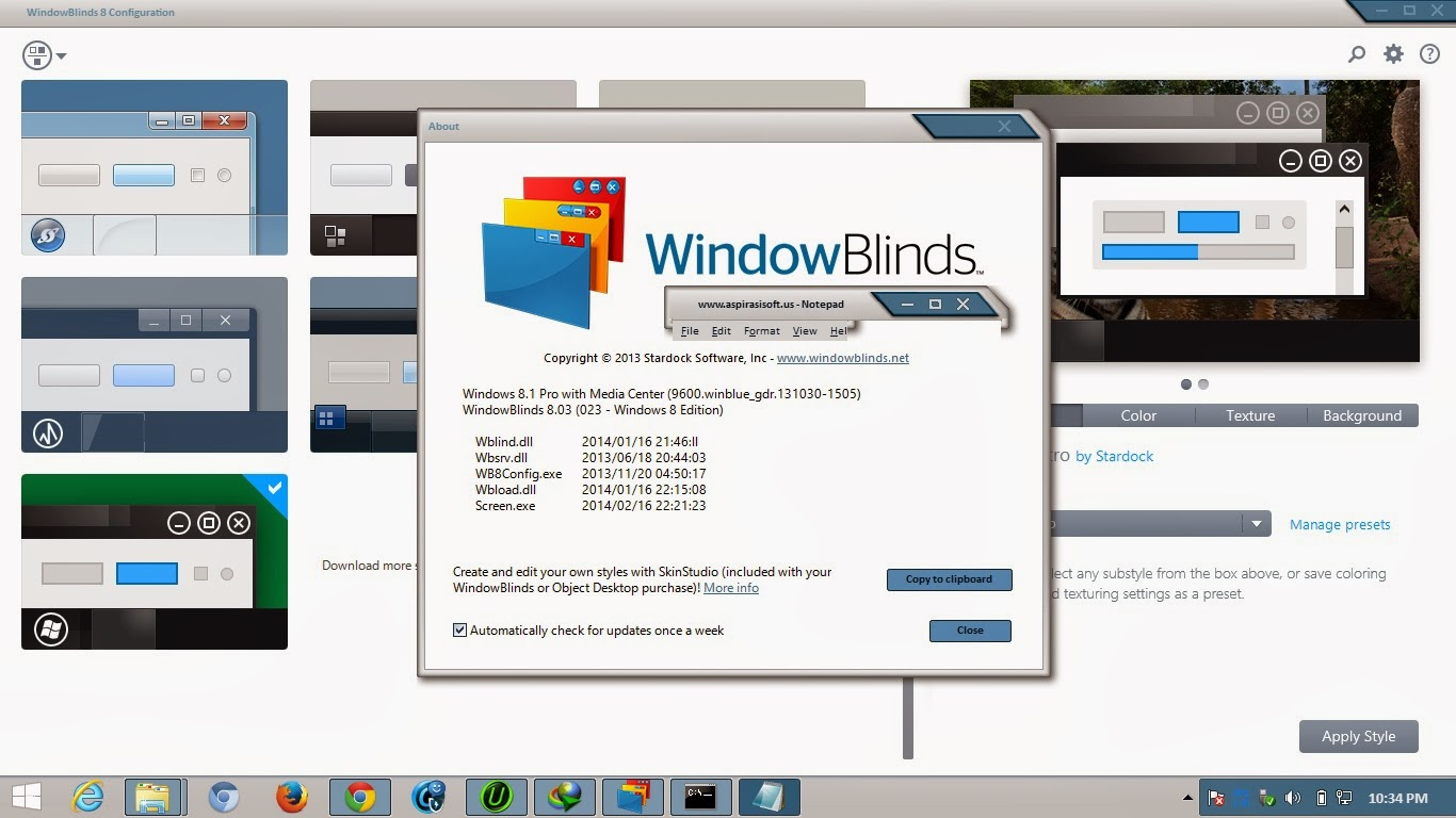 Stardock WindowBlinds 8.03 Full Keygen - RGhost.