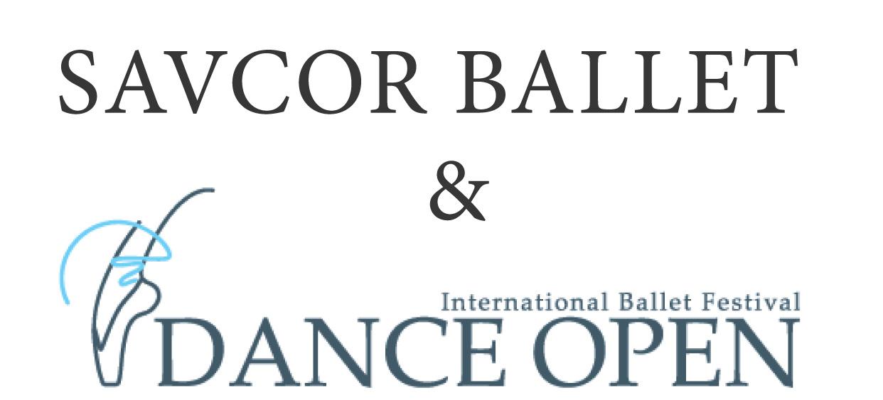 International Ballet Festival DANCE OPEN & SAVCOR BALLET in cooperation with Opera Festival logo
