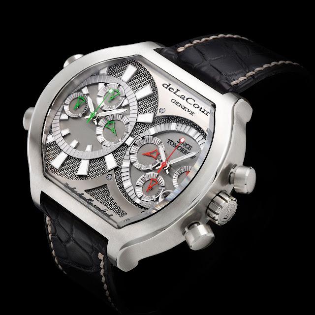Delacour The Bichrono Tech Watch