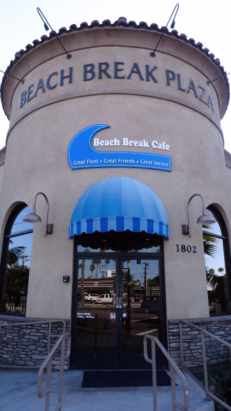 Beach Break Café in Oceanside, California by Stacey Kuhns