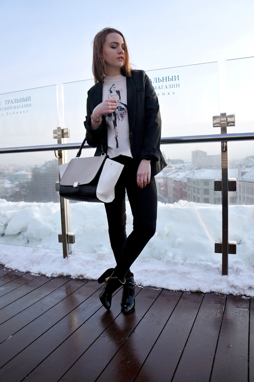 Black Blazer Look | Fashion Blogger | Alina Ermilova