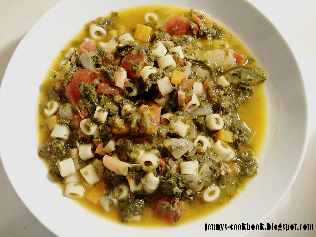 how to make minestrone soup thicker