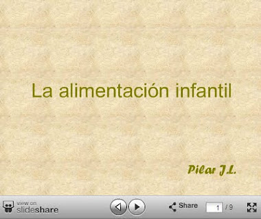 POWER POINT SOBRE LA ALIMENTACIÓN INFANTIL