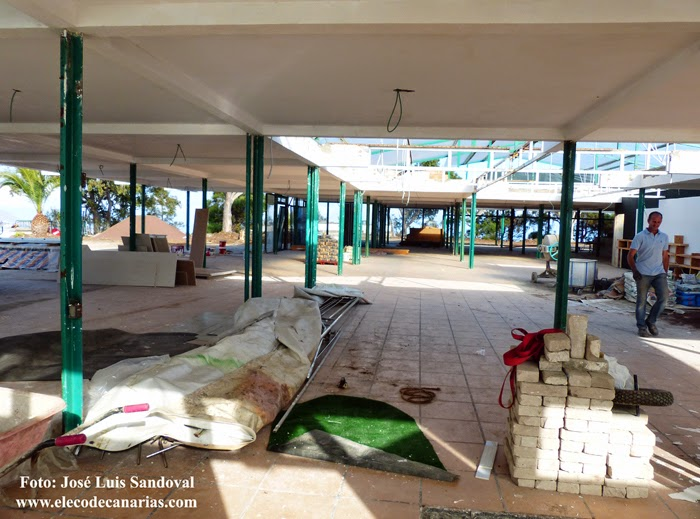 Rehabilitación restaurante mirador montaña de Arucas