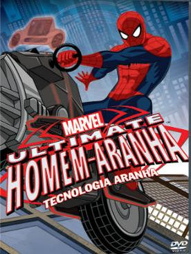 poster Download   Ultimate Homem Aranha: Tecnologia Aranha   AVI Dual Áudio + RMVB Dublado