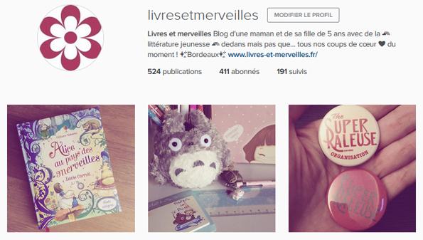 Livres et merveilles sur Instagram - Mois de septembre