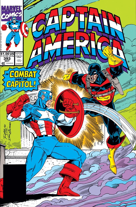 Captain America (1968) Issue #393 #326 - English 1