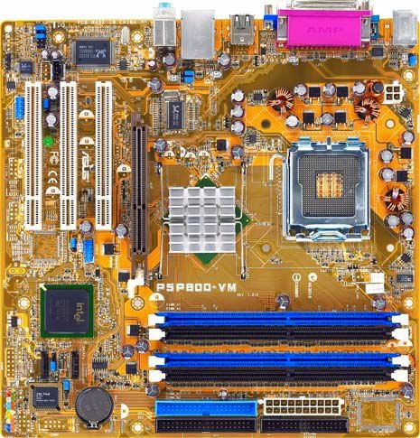 ASUS P5P800-VM / HCL EzeeBee P4 519 Desktop Motherboard Asus P5P800-VM Desktop Motherboard PC Computer Drivers Collection for Win OS