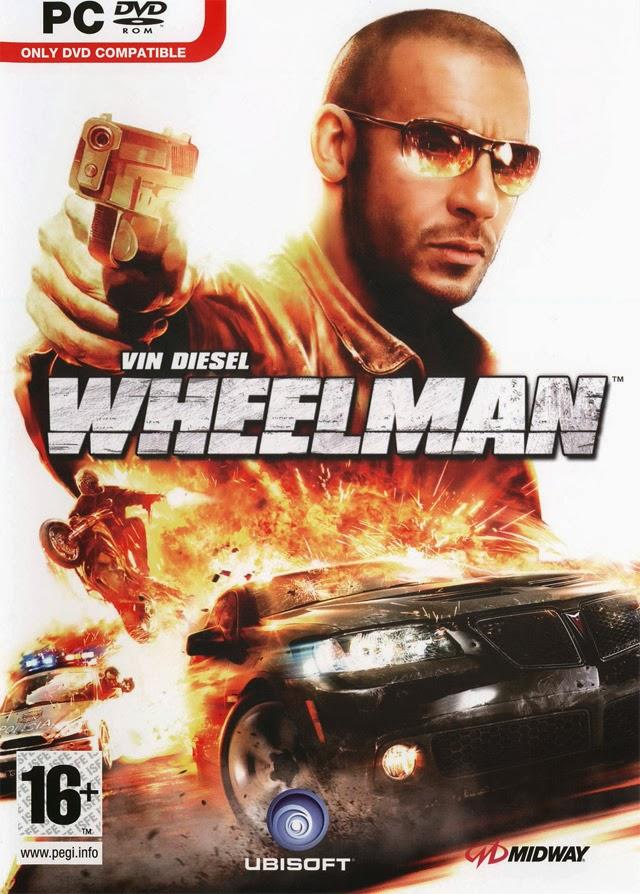 VIN DIESEL Wheel Man Cover, Banner, Poster