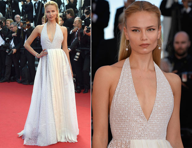 Natasha Poly attended the Closing Ceremony and 'A Fistful of Dollars' screening during the 67th Annual Cannes Film Festival this evening (May 24) in Cannes, France.