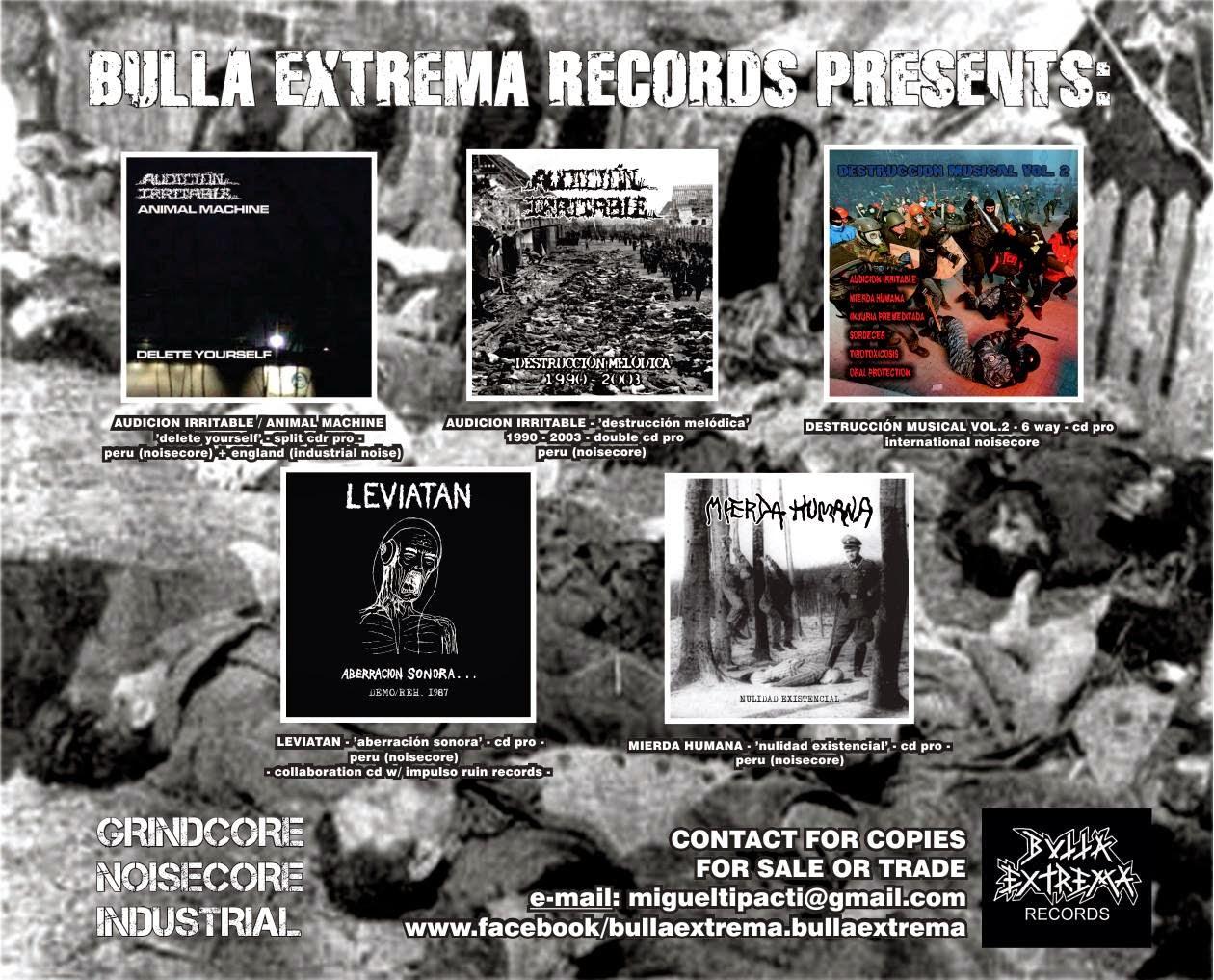 Bulla Extrema Records de Perú!