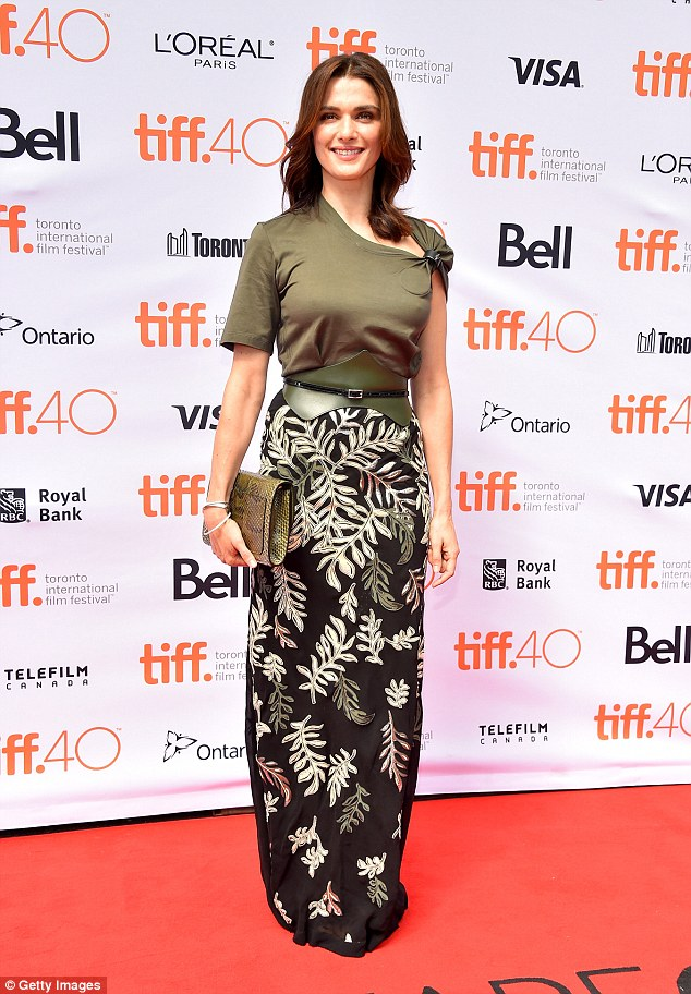 rachel Weisz at the Toronto International Film festival 2015