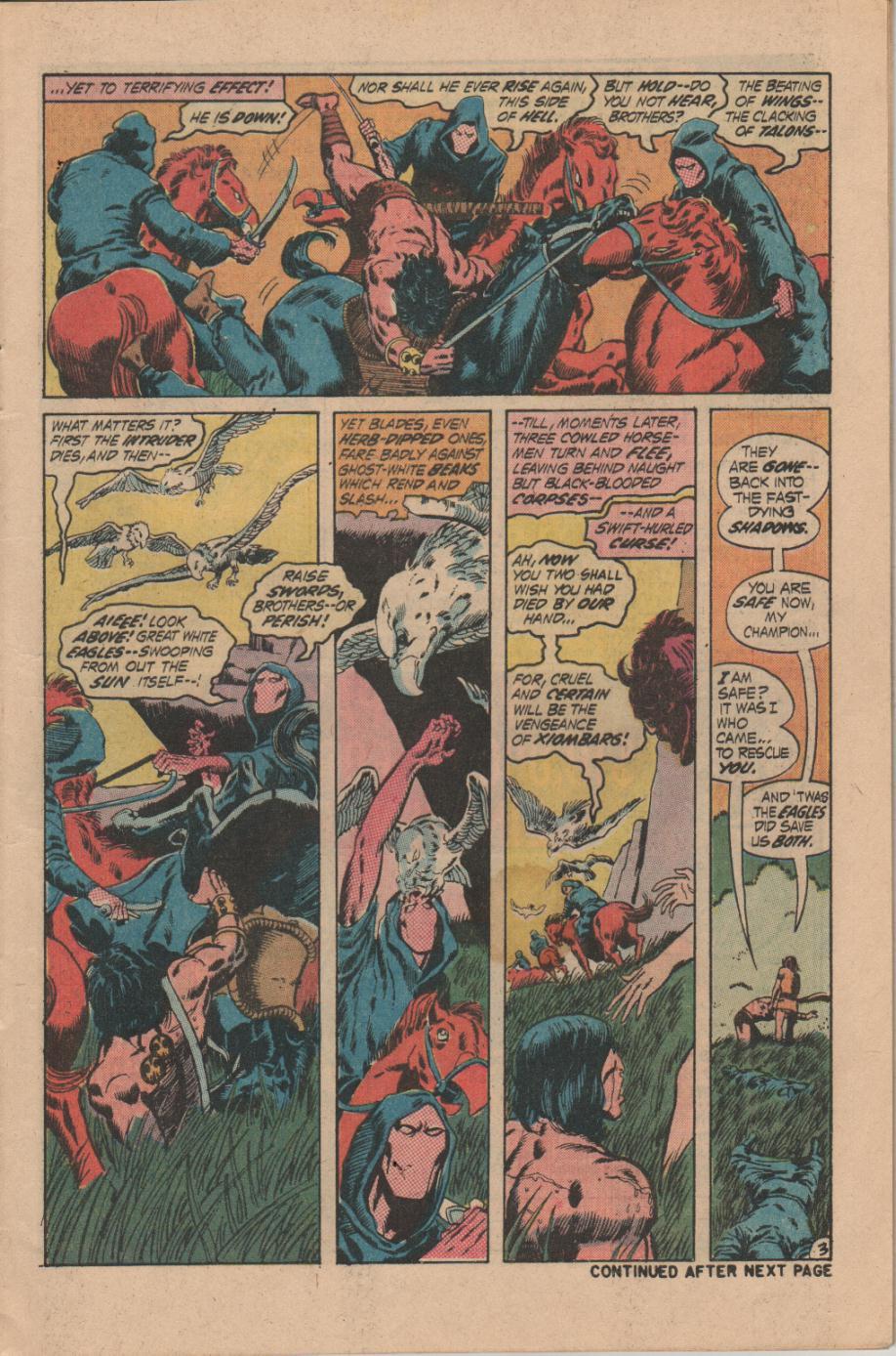 Conan the Barbarian (1970) Issue #14 #26 - English 4