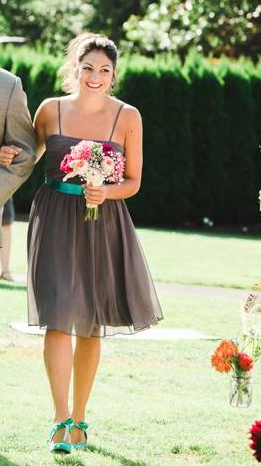 Gray-Bridesmaid-Dress-Style Lamb&Lobster