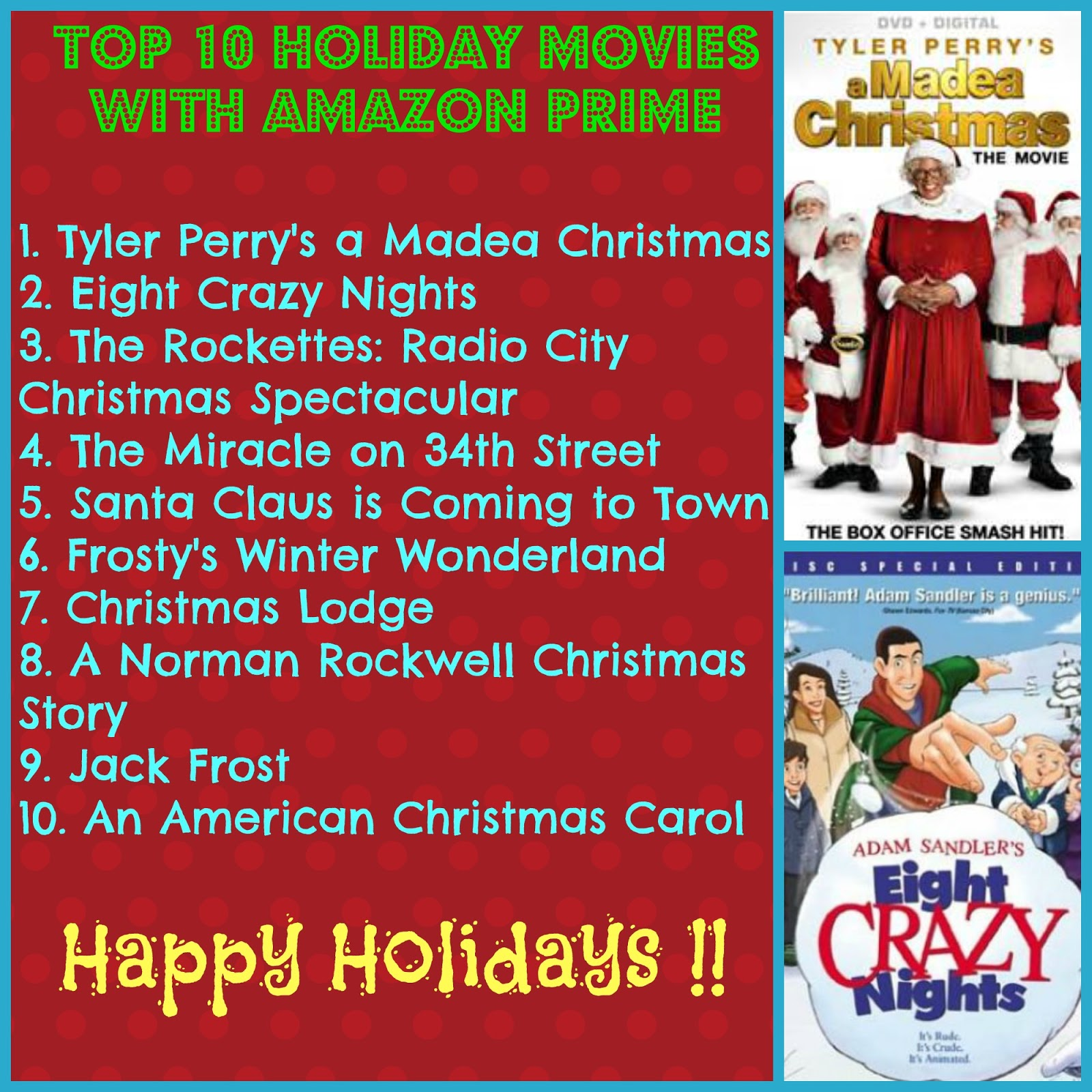 top 10 holiday movies with amazon prime in 2015 - Amazon Prime Christmas Movies