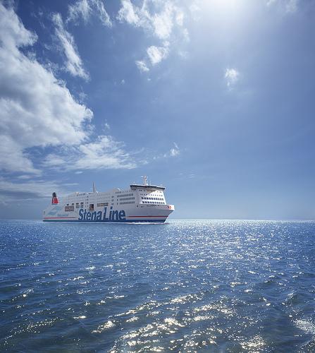 Trajekt na moři