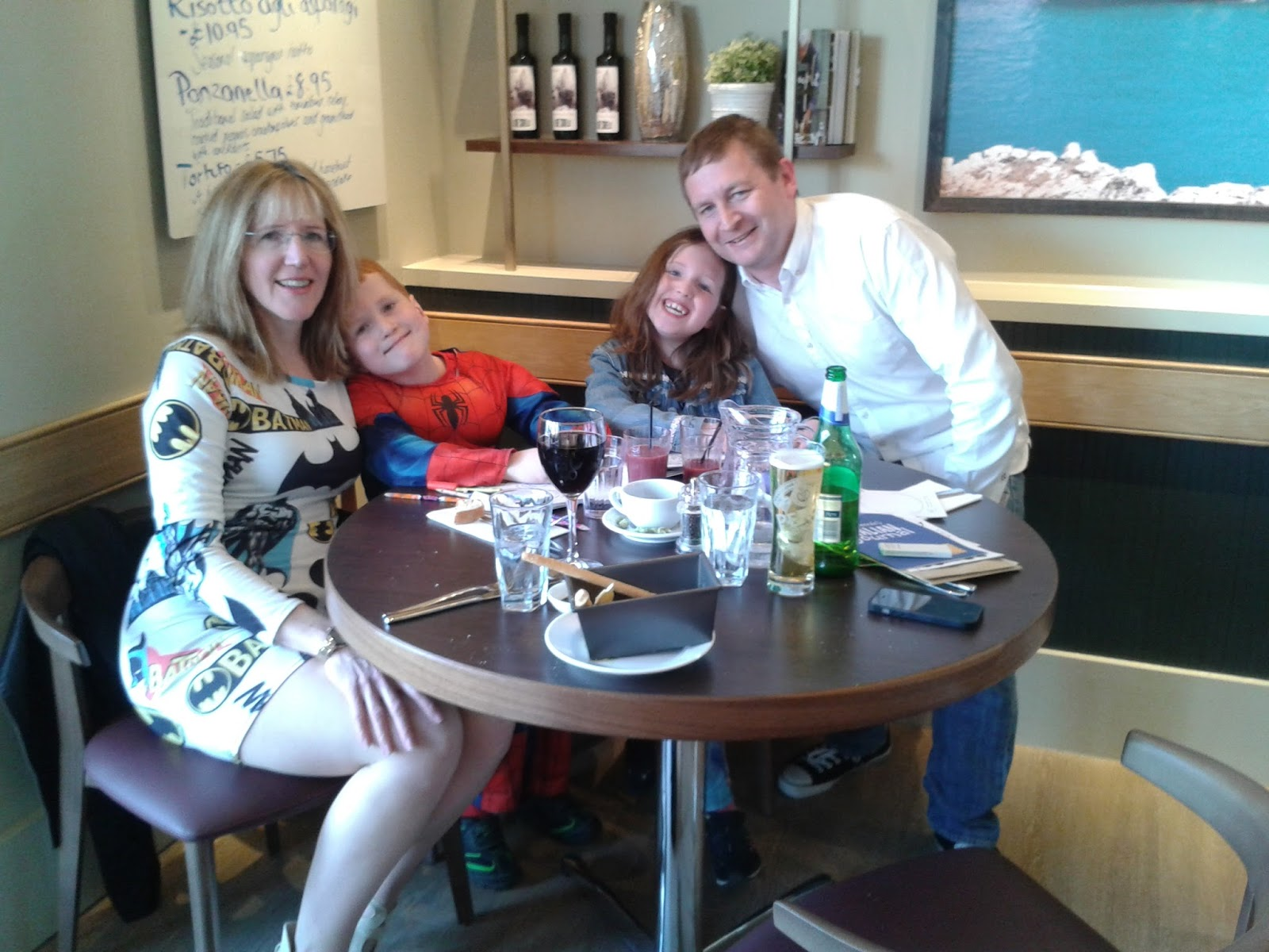 Hobbis Family at Carluccio's, Cardiff Bay