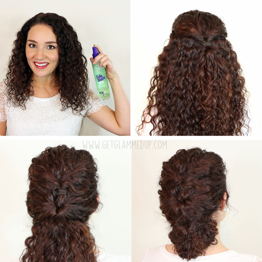 Easy Updos For Long Curly Frizzy Hair : Easy hairstyles for curly hair weekly change ups with