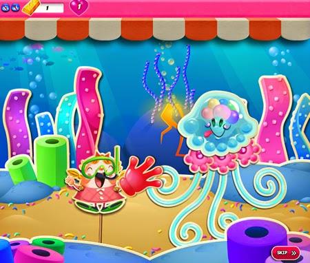 Candy Crush Saga 921-935 ending