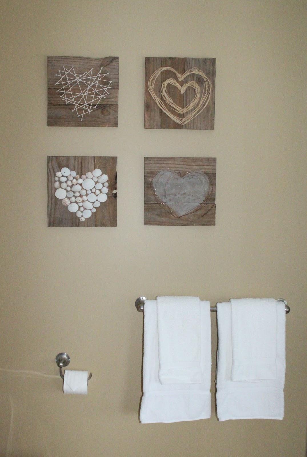 Renew, Create, Restore: Pallet Heart Art