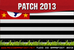 Escudos Patch Paulista 2013 – Brasfoot 2012