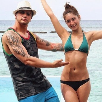 coleen garcia first breaks the inter  this 2015 posts