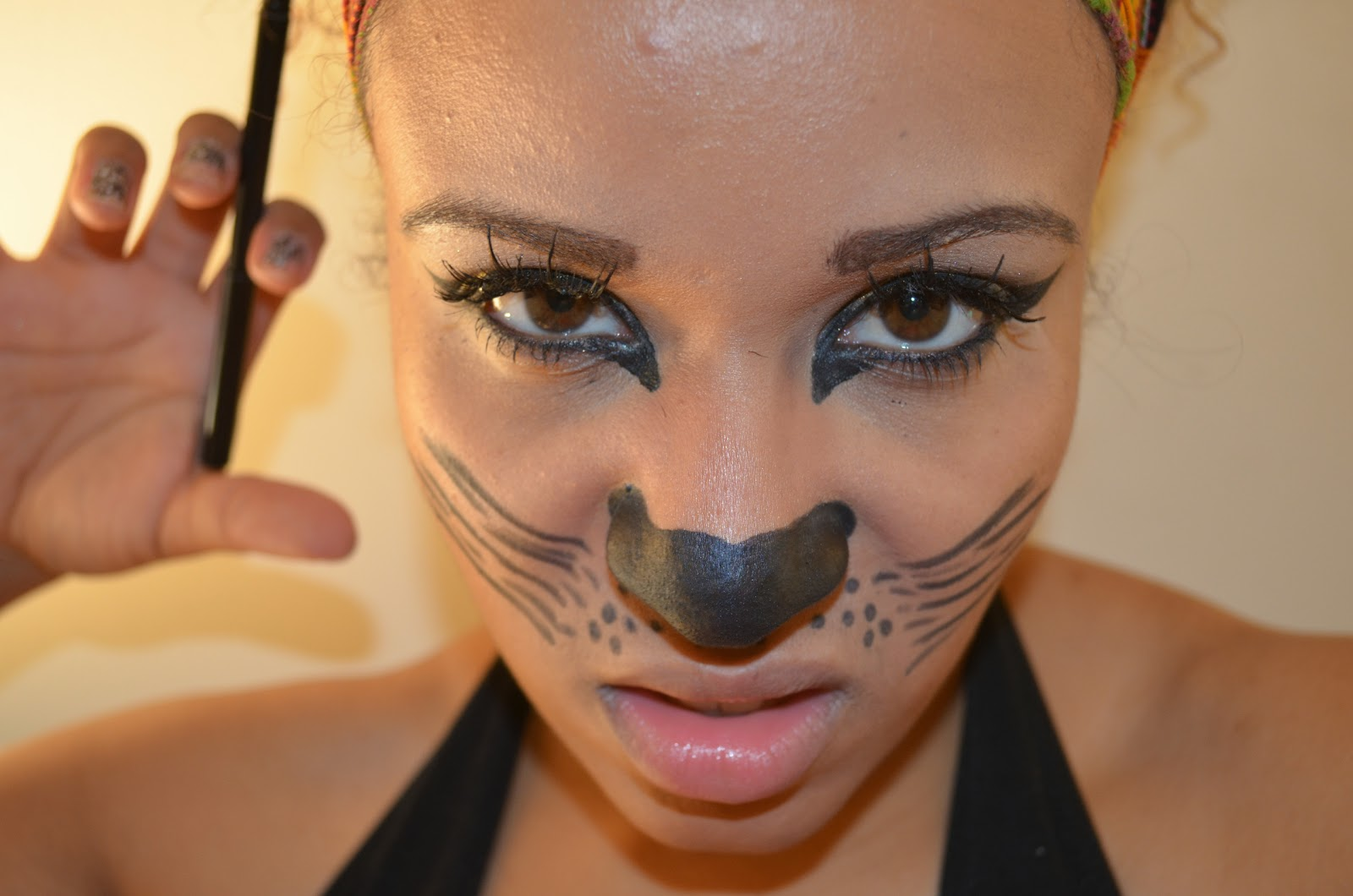 Draw Your Whiskers On And Make A Face Like Mine Lol Lol Lol