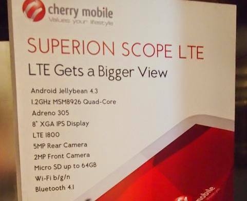 Cherry Mobile Launched Qualcomm 4G LTE Devices