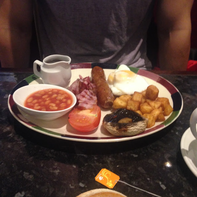 Frankie & Benny's, Breakfast, Blogging, Sunday Outings