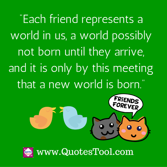 Meeting friends quotes  image