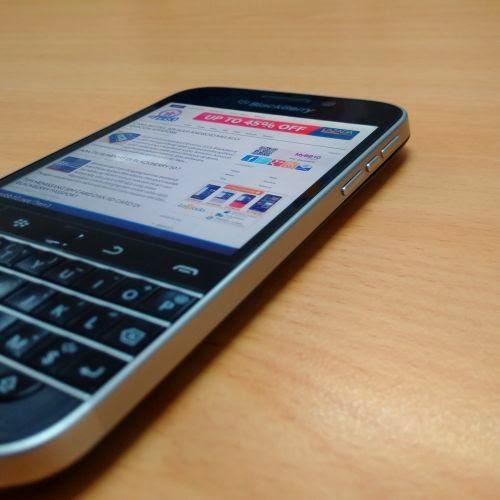 BlackBerry Classic - kanan