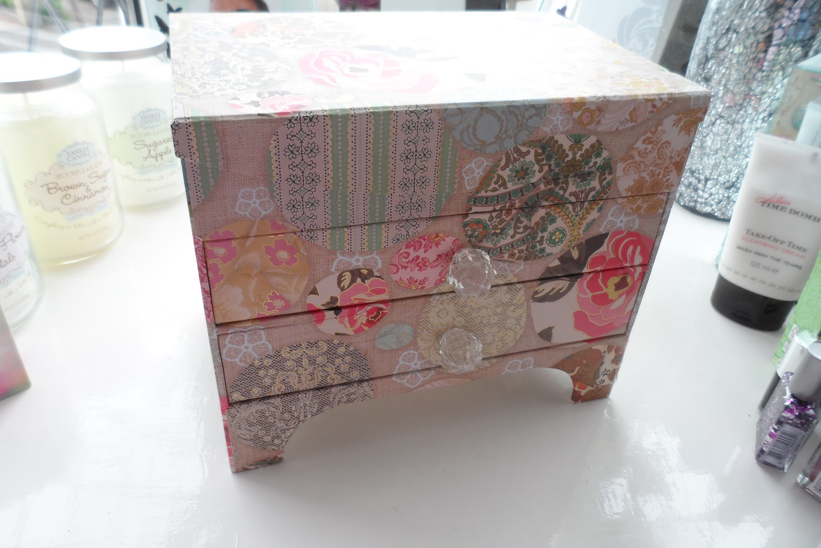 Pretty Jewelry Box Flutter And Sparkle Pretty New Storage Boxes From Tk Maxx