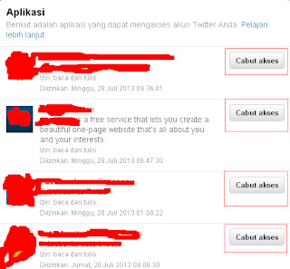 Cara Menghapus Aplikasi di Twitter