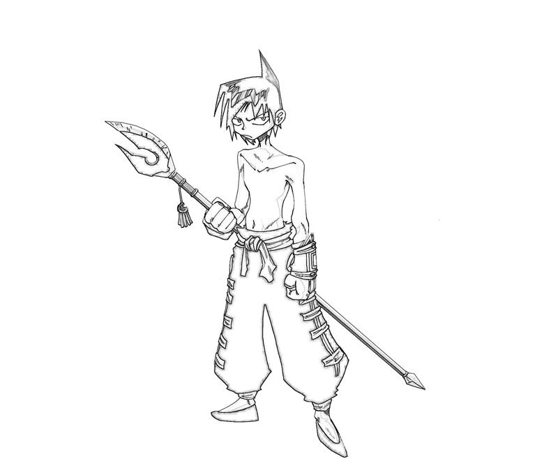 shaman-king-ren-tao-cartoon-coloring-pages