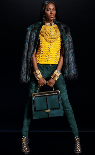 Balmain para H&M colección mujer
