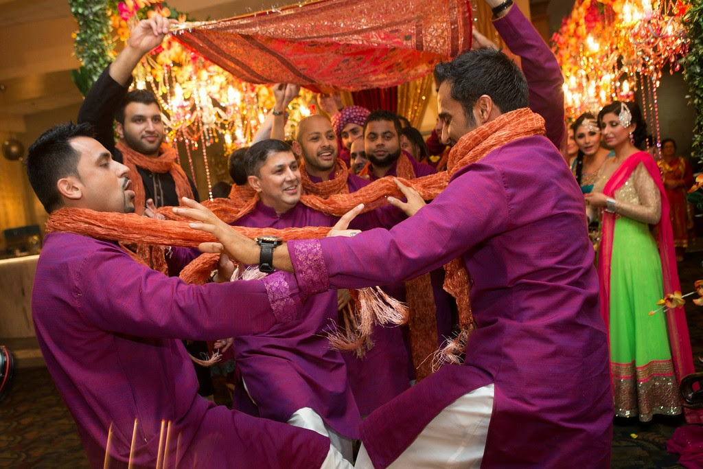 indian wedding, groomsmen, sherwani, mehndi