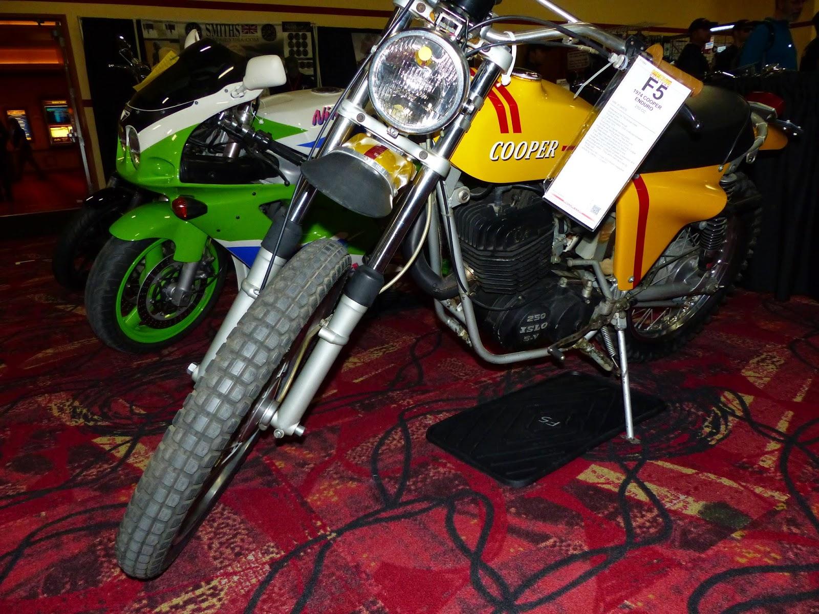 OldMotoDude: 1974 Cooper Enduro for sale at the 2015 Mecum Las Vegas ...