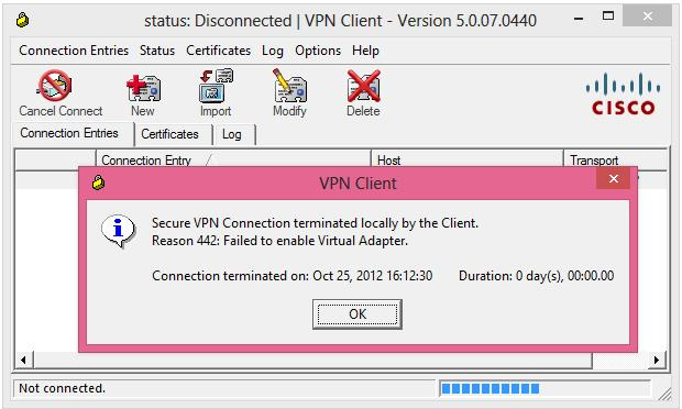 free download cisco vpn client 5.0 07 windows 7 64