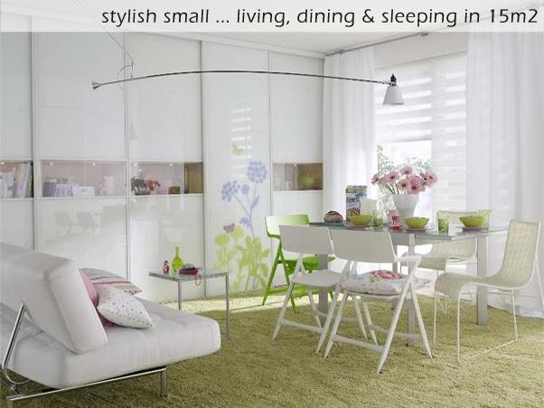 bright home stylish small living in 15m2 ivot i rad u samo 15m2. Black Bedroom Furniture Sets. Home Design Ideas
