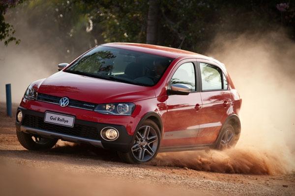 novo Volkswagen Gol Rallye 2014 dianteira