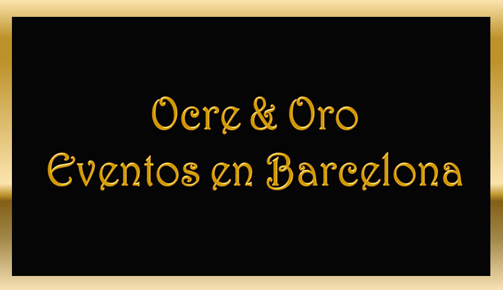 Ocre & Oro - Eventos en Barcelona