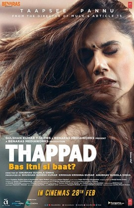 Thappad 2020 Hindi Movie Pre-DVDRip 700MB