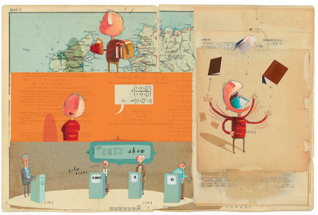 {Books} The incredible book eating boy by Oliver Jeffers