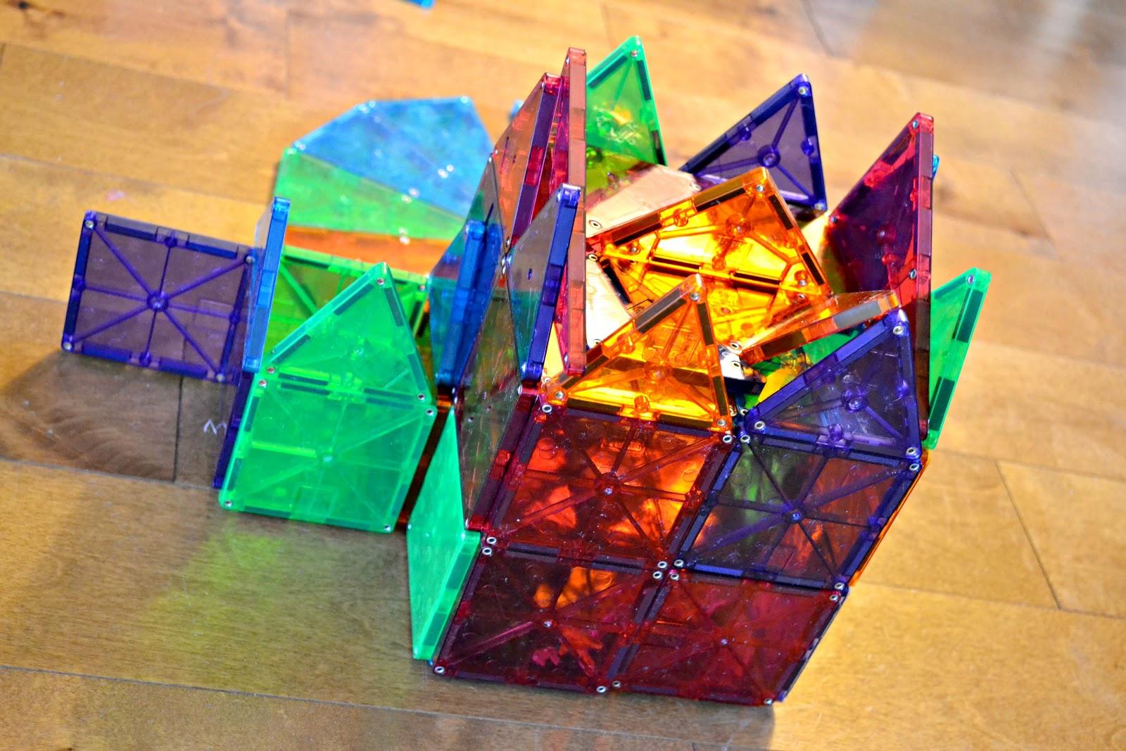 Magna Tiles magnetic building toy for kids